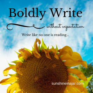 Boldly Write