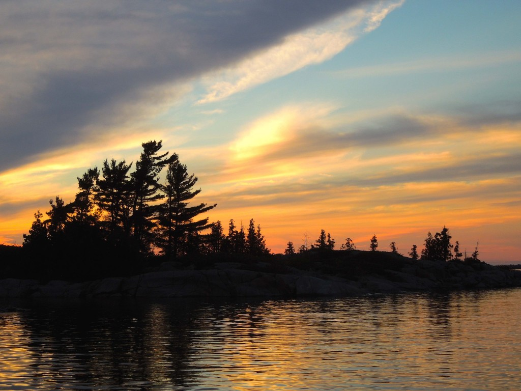 Georgian Bay Sunset, 2015