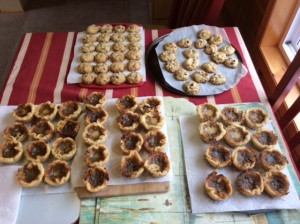 Homemade Butter Tarts and Cookies