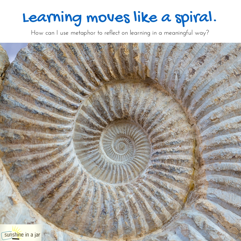 Learning moves like a spiral.-2