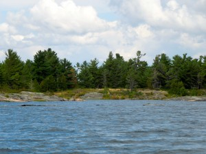 Salem Island, location of the former Dance Hall on Georgian Bay (Britt/Byng Inlet)