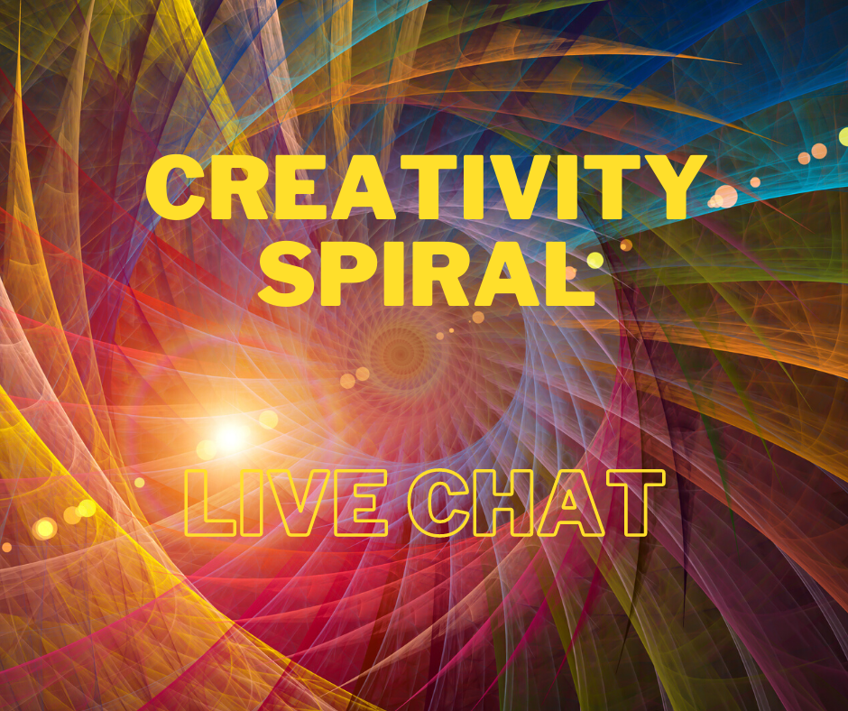 Creativity Spiral Free Monthly Live Chat